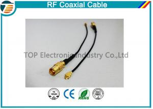 China Right Angle RF Broadband Coaxial Cable Outdoor Coaxial Cable  For Car on sale