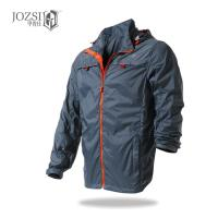 China cycling jersey Men's outdoor long sleeved cycling jackets Outdoor men's air and light belt reflective zipper skin coat on sale