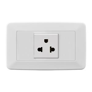 China House Electric Wall Sockets 1 Gang  , American Power Socket Durable And Safe on sale