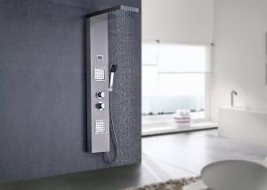 China Digital Temperature Display Wall Mount Shower Panel 2.0GPM Max Flow Rate ROVATE on sale