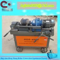 China rebar thread rolling machine on sale