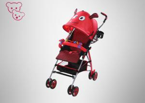 China Animal Design Baby Umbrella Stroller Suspensions 5.5 Inches Wheels For 0 - 36 Months on sale