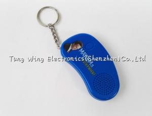 China Customizable Foot Shaped Music Keychain with recordable sound box on sale