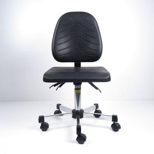 China 360 Degree Swivel PU Foaming Ergonomic ESD Chairs In Special Shape And Surface Design on sale