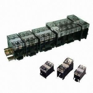 China Rail Type Terminal Blocks IN Series with 600V Voltage on sale