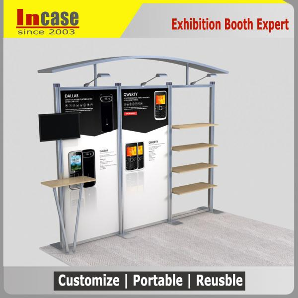 Exhibition Shell Scheme Suppliers : Customized trade show exhibition booth shell scheme