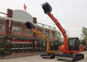 China Long Reach 6 Tonne Rubber Tire Excavator Heavy Duty Construction Equipment on sale