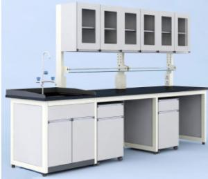 China Extremely Durable Steel Lab Table , Wall Side Science Laboratory Tables on sale