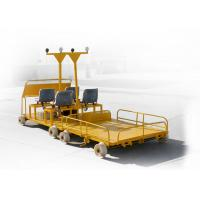China The Double Tracks Running Rail Detection Vehicle For Scanning Steel Rails on sale