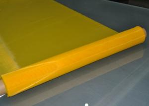 Quality Low Elasticity 43T Polyester Screen Printing Mesh For Textile Printing , 65 Inch for sale