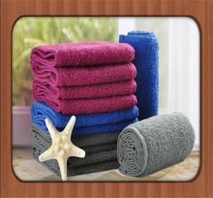 China hot sale custom 2016 new Cheap colorful face towel wholesale with high quality on sale