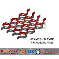 China 304 Hexagonal Mesh, Hexsteel, Hex Mesh for Refractory  Flue Gas Lines on sale