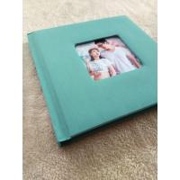 China Homemade Flush Mount 12 x 8 Wedding Photo Albums Golden Sliver White on sale