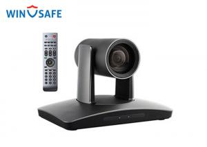 China Black USB3.0 Room Tracker Pan / Tilt / Zoom HD Video Camera For Meeting Room / Church / Live Streaming on sale