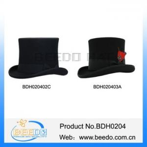 China Traditional wool felt tuxedo top hat theatre for sale on sale