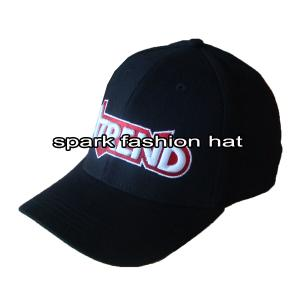 Quality O spandex relativo à promoção de 6 painéis coube o chapéu de basebol com o logotipo do bordado for sale