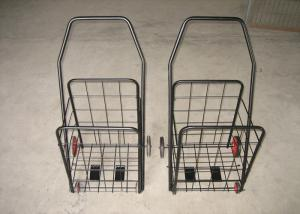 China Portable Plastic Shopping Trolley Luggage Shopping Small Plastic Shopping Carts on sale