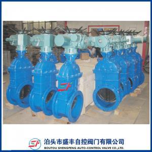 China válvula de puerta eléctrica dúctil del arrabio DN50 del hierro bs5163 Z945X-16Q de la marca del shengfeng on sale
