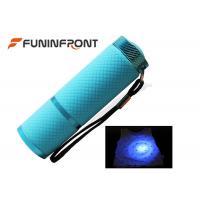 AAA Battery Powered MINI 9 LED Black Light  Led Flashlight for Scorpion Hunt