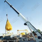China Shanghai HAOYO Offshore Electric Hydraulic Telescoping Marine Deck Crane