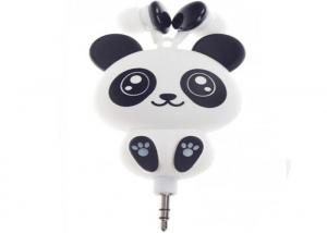 China Cute Earphones Cartoon Panda Cheese Cat Chi's Sweet Home Earbuds Automatic Retractable Hifi Headsets for iPhone Android on sale