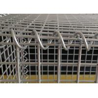 Welded Type Gabion Wire Mesh Boxes , Wire Box Retaining Walls 10-20 Years Use Life