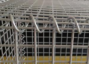 China Welded Type Gabion Wire Mesh Boxes , Wire Box Retaining Walls 10-20 Years Use Life on sale