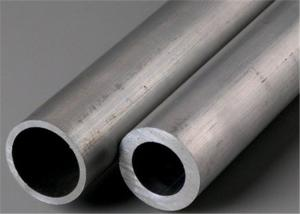 China Hot Rolled Stainless Steel Round Tube / Straight Welded 316Ti Seamless Steel Tube on sale