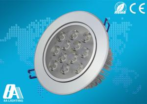 China 12 Watts LED Ceiling Downlights 6500K Led Ceiling Lamps For Hotel on sale