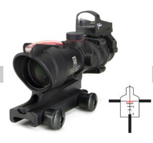 China 4x32mm Night Vision Red Green Dot Sight Military Gun Accessories For Hunting Game on sale