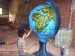 FRP fiberglass school geography teaching product model factory direct