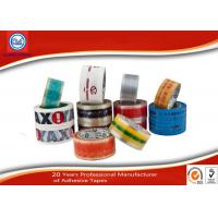 Customized BOPP Packaging Tape With Logo Printing SGS ISO