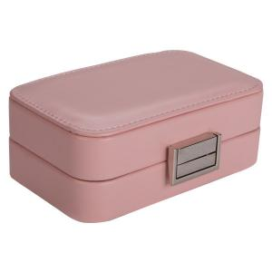 China Recyclable Portable Travel Jewelry Box Decorative Storage Case OEM Service on sale