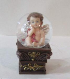 China Anti - frozen liquid toy story Water/Snow Globes ornament with angel for girls / boys on sale