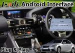 Lsailt Android Multimedia Video Interface for Lexus IS350 IS with Mouse Control 13-16 Model Carplay GPS Navigator