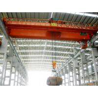 Prefab Industrial Steel Buildings Pre-engineered Building With Cranes Inside