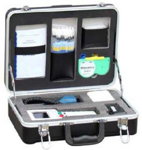 China Convenient Fiber Optic Tool Kits Deluxe Fiber Optic Inspection Cleaning System on sale