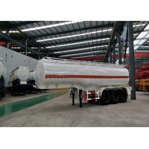 China 2 Pieces Tire Heavy Duty Semi Trailers 13T Leg Support 30000L Oil Tanker Trailer on sale