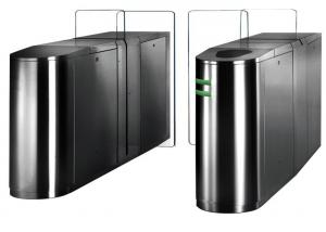 China Electronic Sliding Access Control Turnstiles Turn Style Gate With Single / Bi - Direction on sale