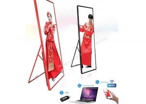 China Advertising LED Advertising Player P3 Indoor Poster Mirror Screen High Contrast Ratio on sale