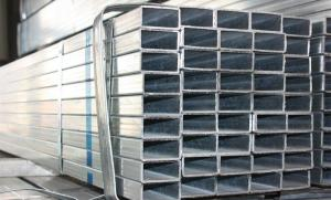 China Rectangular Longitudinally ERW Hot Rolled Steel Structural Pipe / Tubes on sale