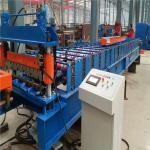 China High speed 10-15m/min low noice corrugated metal plate roll forming machine wholesale