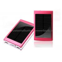 Aluminium Dual USB Solar Power Bank Mobile External Battery 10000mah