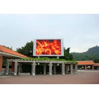 China Professional Big IP65 P10 Outdoor LED Screen Module 15625 pixels/㎡ on sale