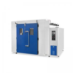 China Temperature And Humidity Test Chamber R23 / R404a Walk In Chamber With Viewing Window on sale