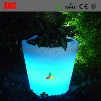 China LED Lighted Planter Pots illuminated led flower pot/led flower planter/rgb led flower pot on sale