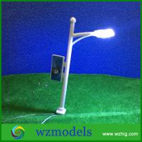 High Quality HO Scale 1:100 Model Layout Single Head Garden Lights Lamppost Lamp