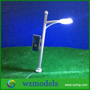 China High Quality HO Scale 1:100 Model Layout Single Head Garden Lights Lamppost Lamp on sale