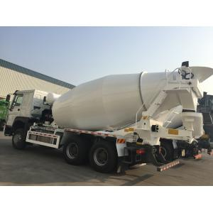 China HOWO 10 wheels Euro 2  10m3 Concrete Mixer Truck on sale