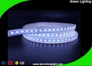 China 24V 5500K Flexible Led Ribbon Light Cool White Waterproof Strip Lighting , Explosion Proof Fire Retardant on sale